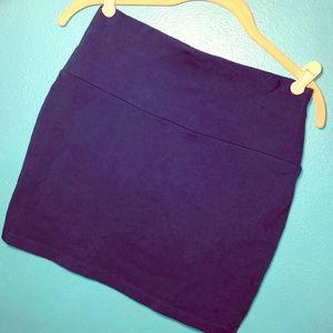 Forever 21 royal blue high waisted mini skirt